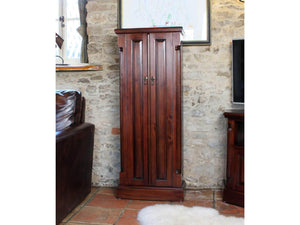 Laddingford Solid Wood Mahogany CD / DVD Cupboard