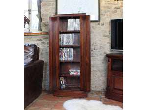 Laddingford Mahogany CD / DVD Cupboard