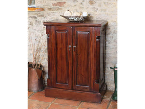 Laddingford Mahogany Shoe Cabinet