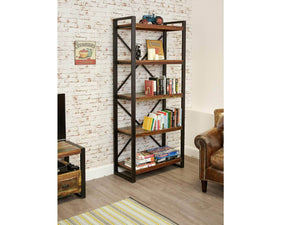 Asia Reclaimed Wood Bookcase - Large