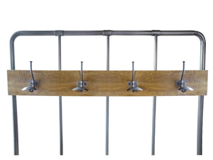 London Industrial Hall Bench and Coat Rack
