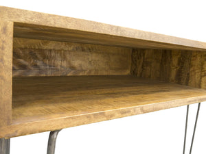 London Hairpin Legged Console Table