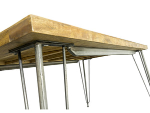 London Industrial Dining Table