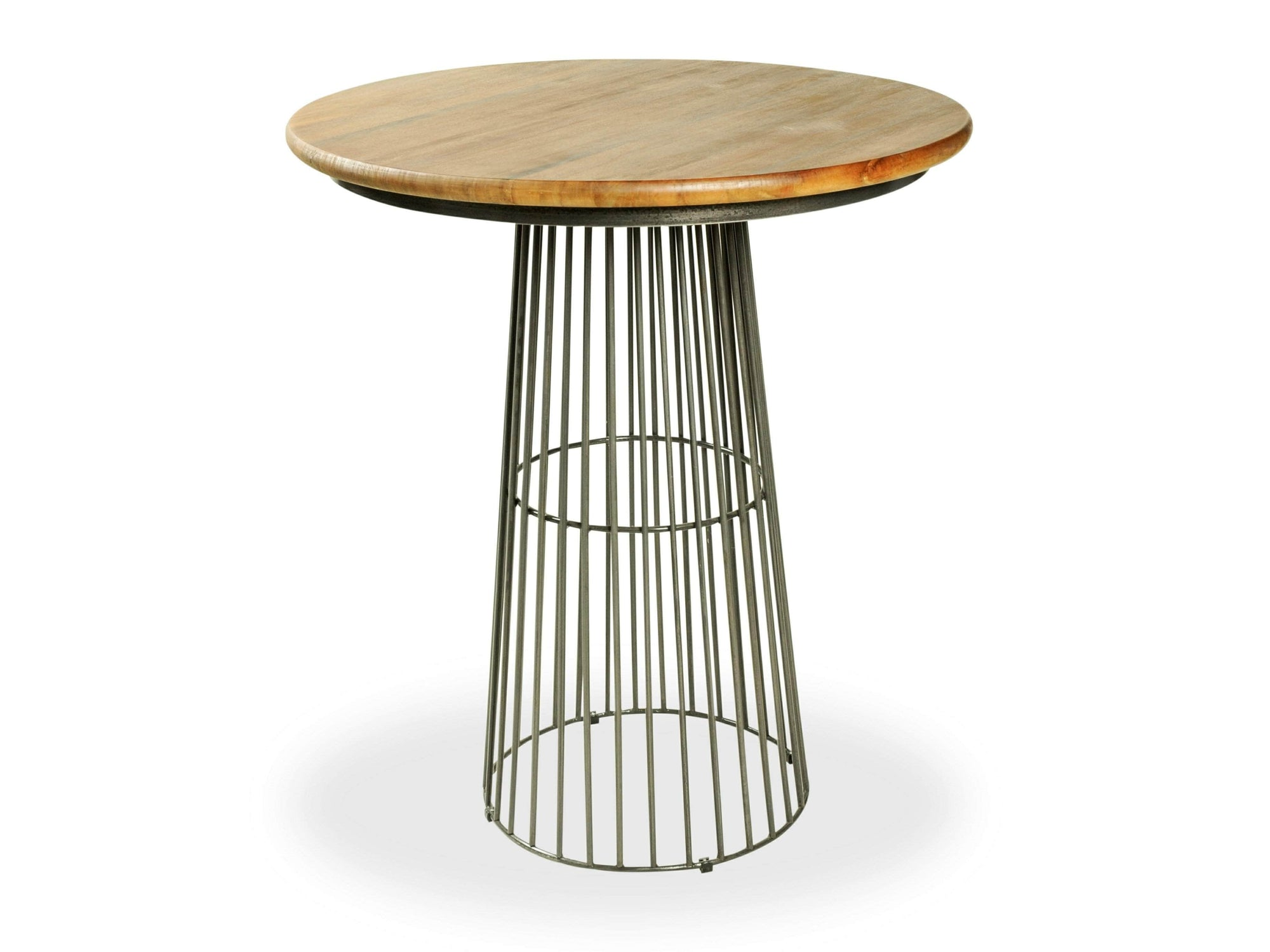 London Industrial Round Bar Table