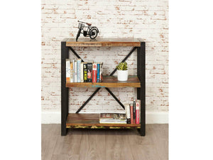 Asia Reclaimed Wood Bookcase - Small
