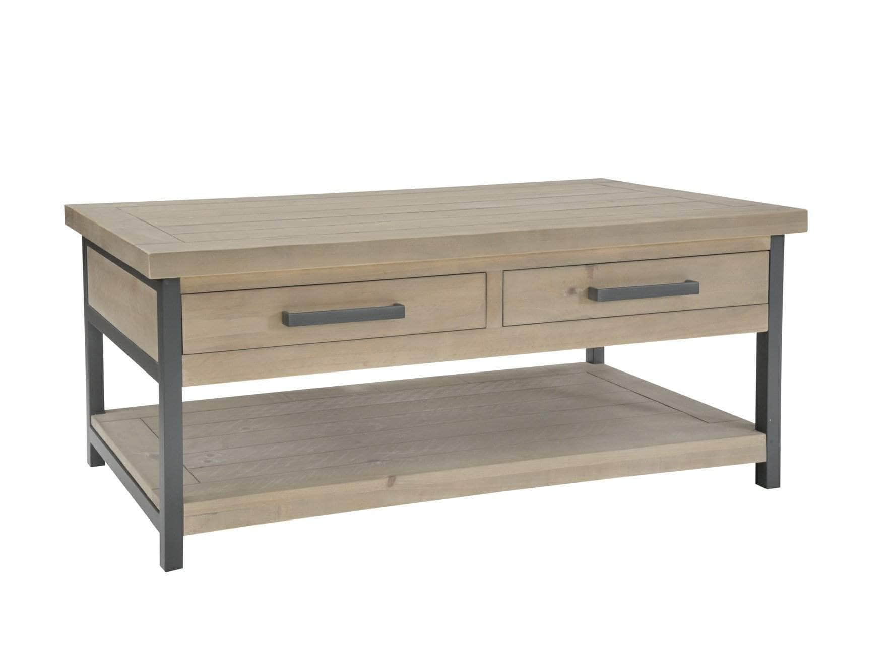 Loxton Industrial Style Coffee Table