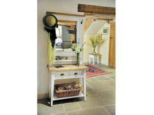 Milford Farmhouse Style Console Table
