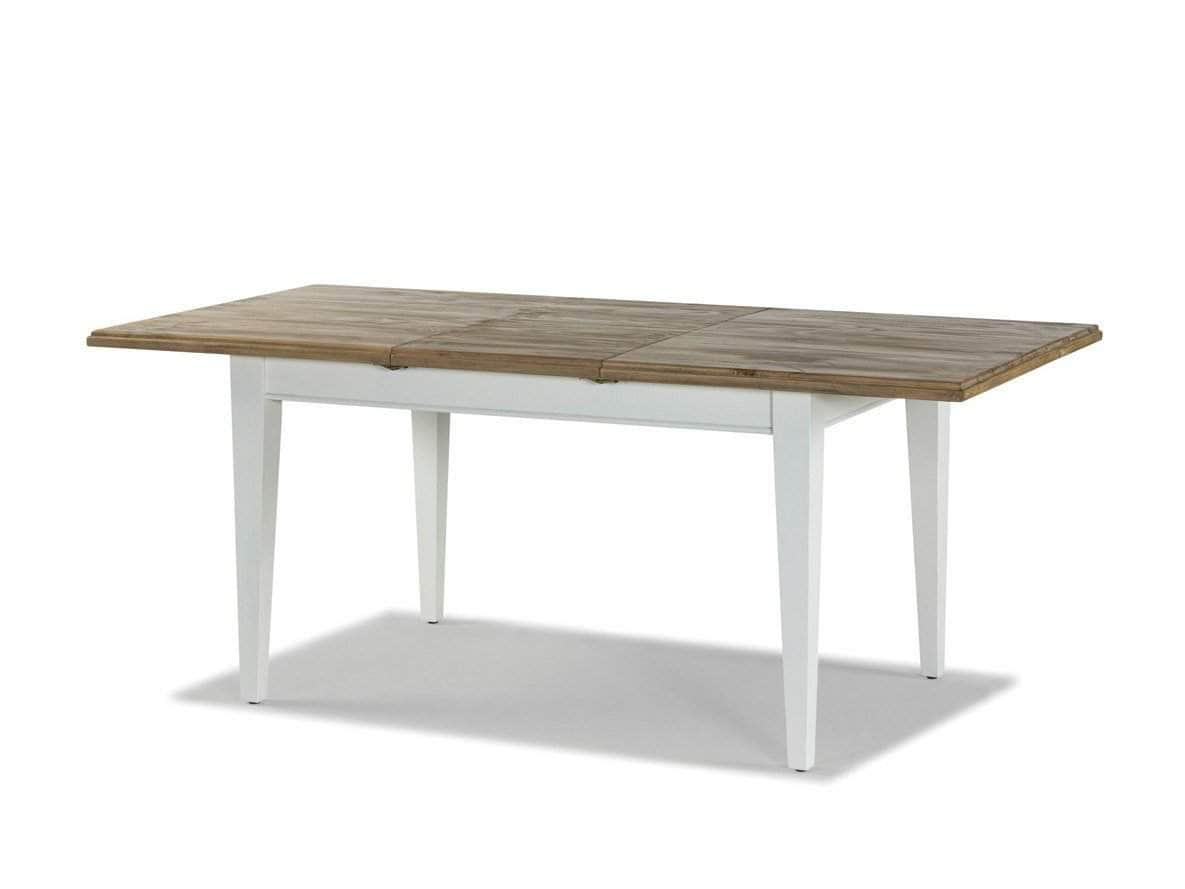 Milford Extending Rustic Farmhouse Style Dining Table