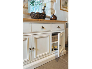 Milford Large Farmhouse Style Sideboard