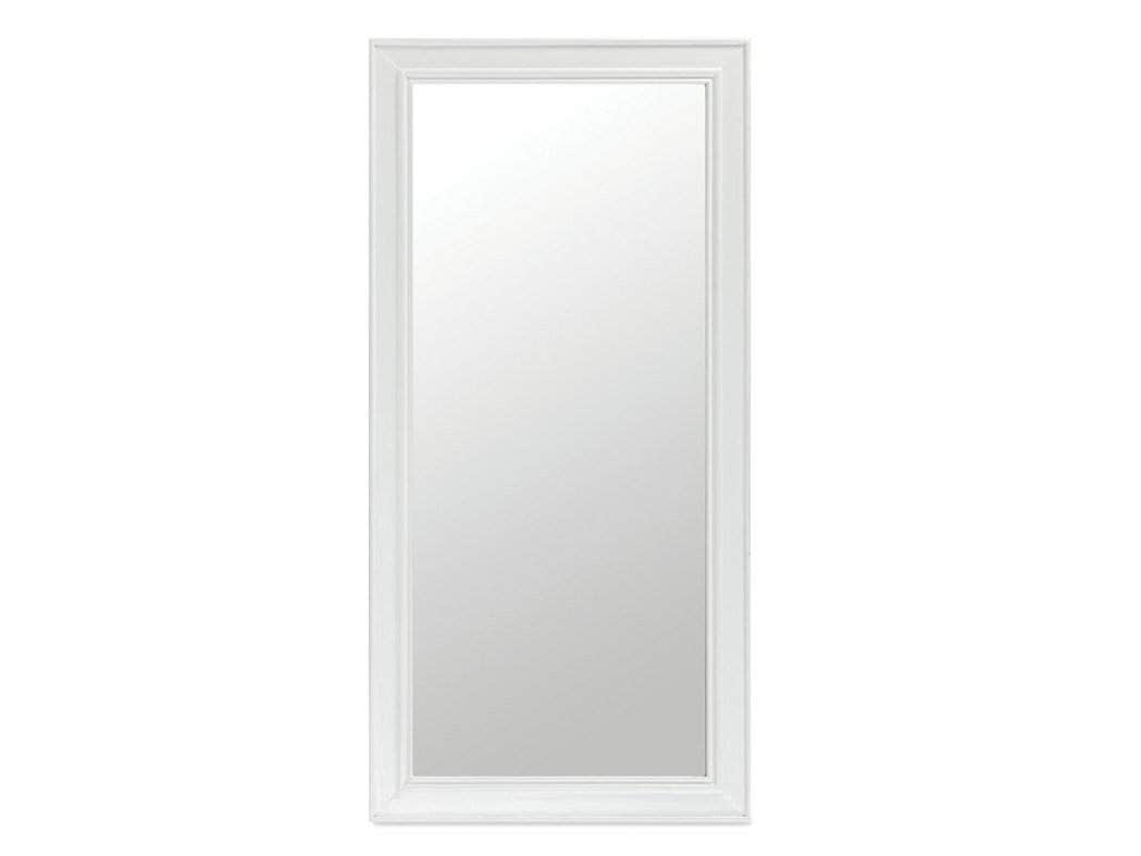 White frame mirror, from the Milford range