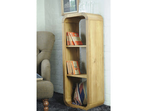 Lichfield Contemporary Solid Oak Shelving Unit