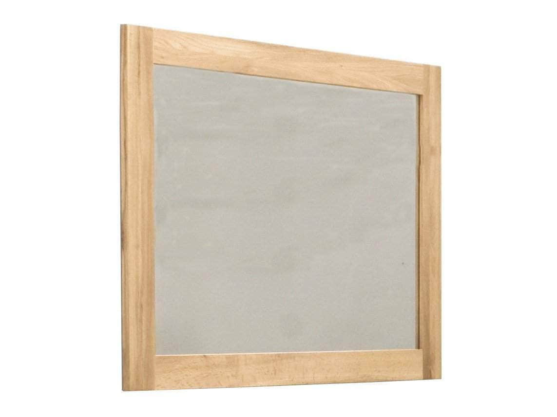 Medium size mirror with solid oak frame