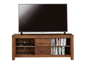 Orsina large solid walnut TV stand