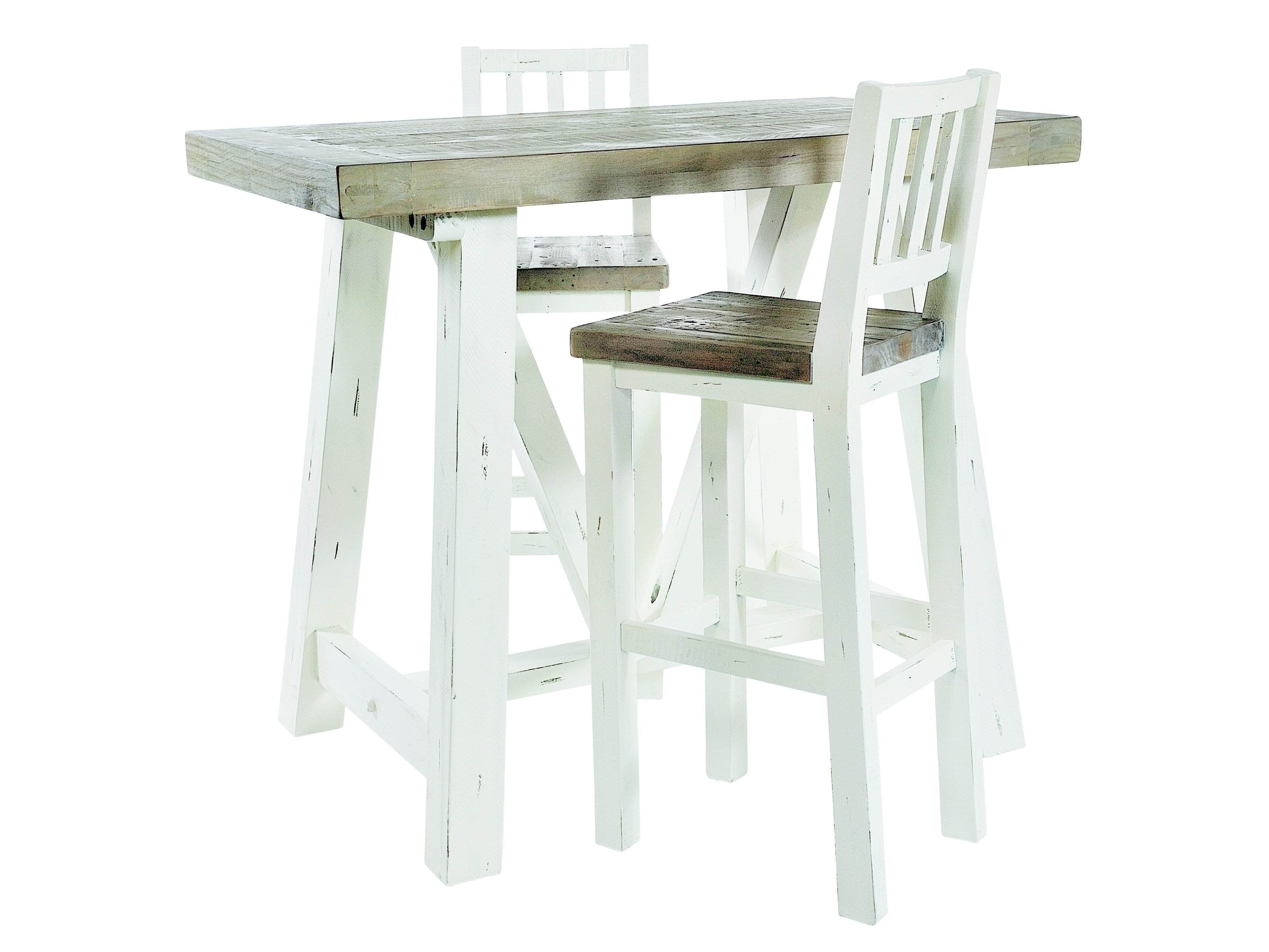 Shabby Chic Bar Table Images Bar Height Dining Table Set