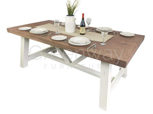Paxford Rustic Extendable Dining Table