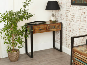 Asia Reclaimed Wood Console Table