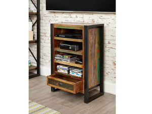 Asia Reclaimed Wood Entertainment Cabinet