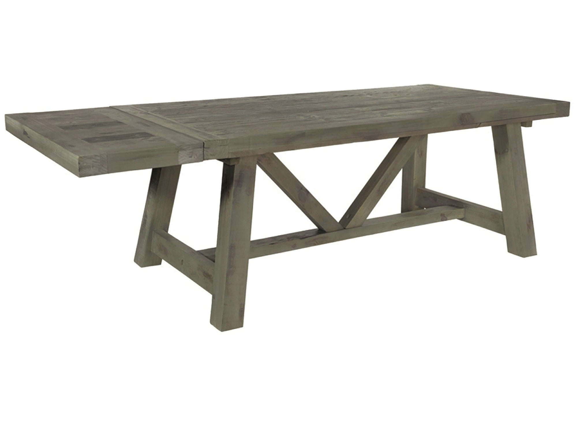Seaton Reclaimed Dining Table - Extendable