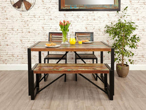 Asia Reclaimed Wood Dining Table - Small