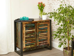Asia Reclaimed Wood Sideboard - Small