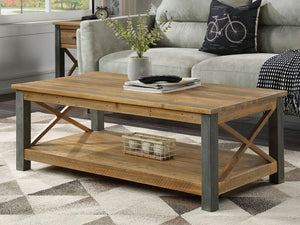 Wharf Industrial Coffee Table
