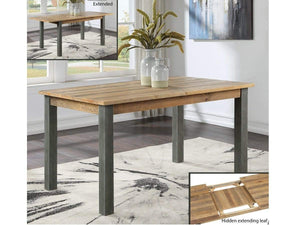 Wharf Industrial Extending Dining Table