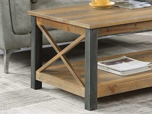 Wharf Industrial Coffee Table - Large
