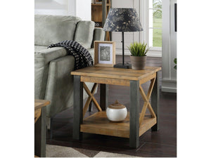 Wharf Industrial Lamp / Side Table