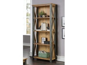 Wharf Industrial Bookcase - Large