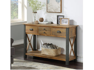 Wharf Industrial Console Table - Large