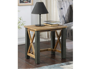 Wharf Small Industrial Lamp Table