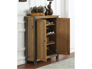 Wharf Industrial Shoe Cabinet - Small