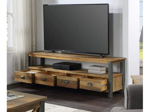 Wharf Industrial TV Stand