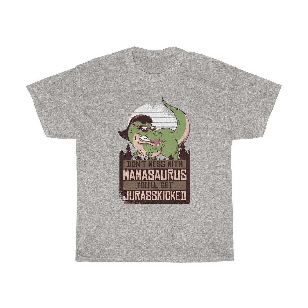 Mamasaurus Unisex Heavy Cotton Tee