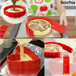 Cake Snake - Silicone Cake Baking Shaper 4 Pcs/set