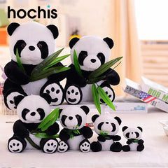 Bamboo Eating Panda Plush 22cm