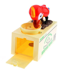 Parrot Automatic Coin Money Box