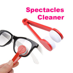 Portable Handle Glasses Microfiber Cleaner