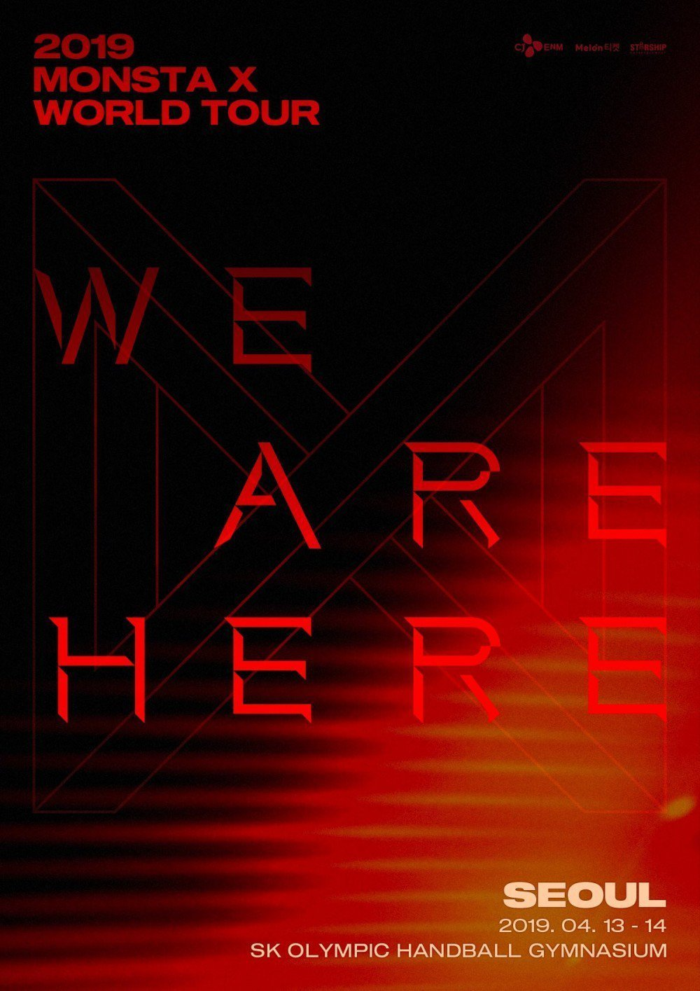Monsta X 2019 We Are Here World Tour