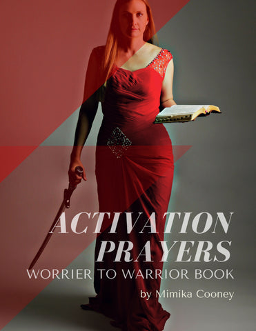 Activation Prayer Guide Worrier to Warrior Book  (Printable 16 page Guide)