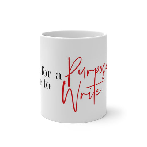 Color Changing Mug - Made for a Purpose Born to Write