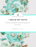 "Wall Art 7 Days of Scripture Declarations (Printable 7 pages 8x10"")"