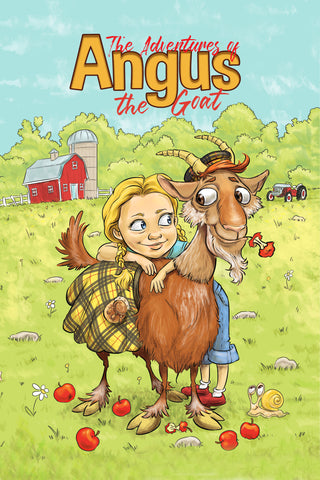 Angus The Goat: Best of Friends (Series Book 1) Ebook+Paperback
