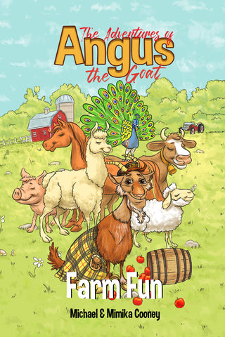 Angus The Goat: Farm Fun (Series Book 2) Ebook+Paperback