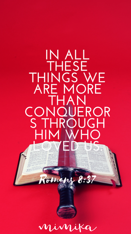 Screensaver Romans 8:37