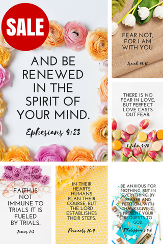 Screensaver Wallpaper BUNDLE (Set of 12) Scripture Bible Verses