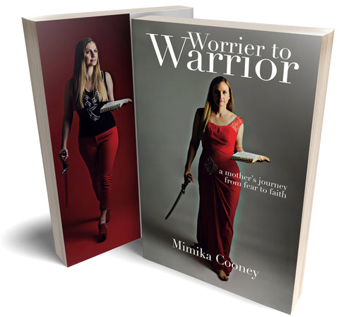 Worrier to Warrior: A Mother's Journey from Fear to Faith (Author Signed Paperback Book + eBook Bundle)
