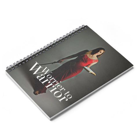 Spiral Notebook - Ruled Line (Worrier to Warrior)