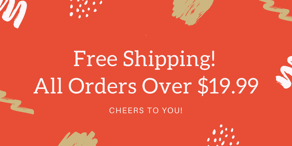 Free shipping over $19.99