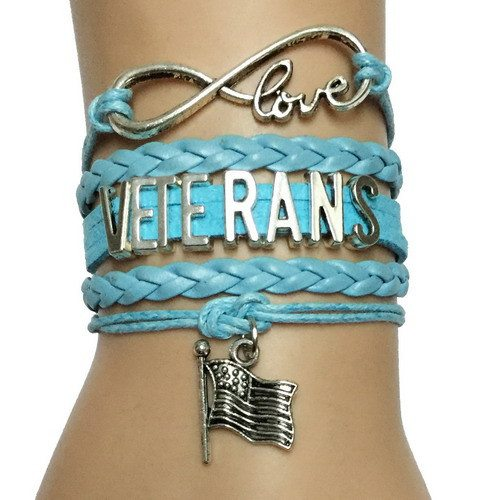 Accessories - Infinity Love Veterans Bracelet